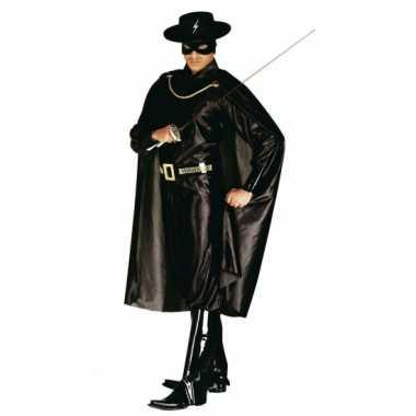 Zorrro verkleedkleding heren