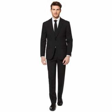 Zwart verkleed verkleedkleding voor heren