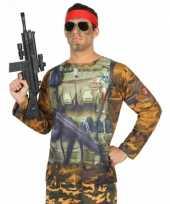 Compleet soldaat verkleedkleding voor heren