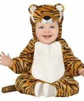 Dierenpak tijger verkleed verkleedkleding voor peuters 12 18 maanden