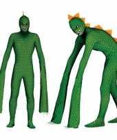 Monster reptielen verkleedkleding met lange armen voor heren
